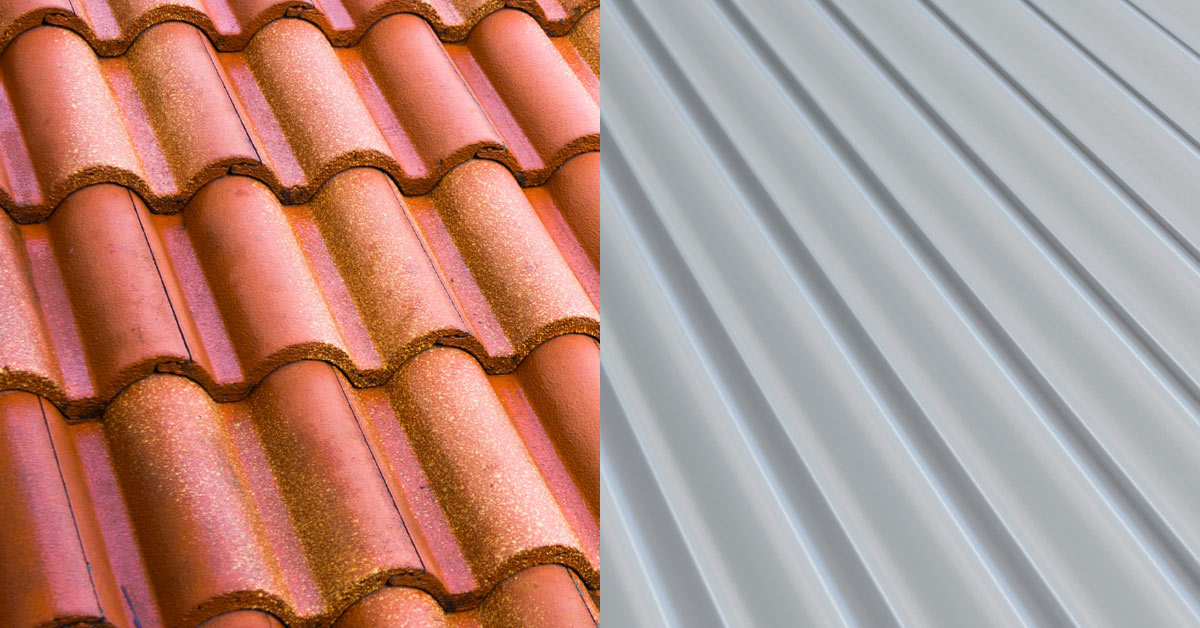 Metal Roofing Compared To Slate And Tiles Alcoil