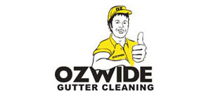 ozwide gutter cleaning logo